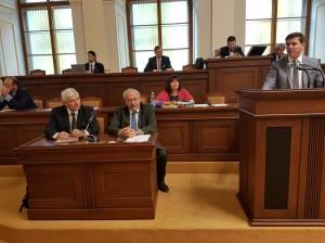 Projednávání roční zprávy ČNB za rok 2017