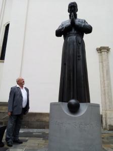 Socha kněze Martina Středy - Brno