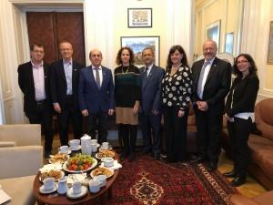 Přijetí delegace izraelské univerzity