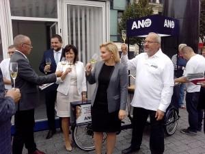 Zahájení kampaně ANO
